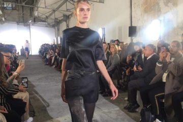 أسبوع الموضة في باريس لربيع 2019 Paris Fashion Week kristinafidelskaya