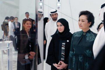حرم الرئيس الصيني: «لوفر – أبوظبي» نموذج لسياسة الإمارات المنفتحة على العالم