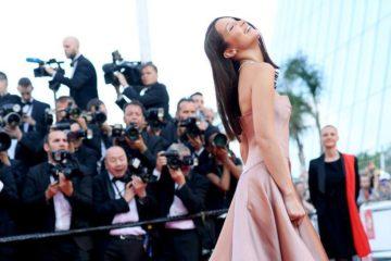 مهرجان كان الـ 71: بيلا حديد بإطلالة ساحرة من Dior Couture