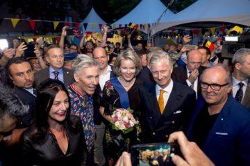 الاحتفالات بالعيد الوطني في بروكسل