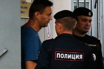 """المتحدثة باسم المعارض الروسي أليكسي نافالني تعلن توقيفه لـ""""أسباب مجهولة"""""""