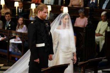 بالصور: الأمير هاري وميغان ماركل زوج وزوجة!