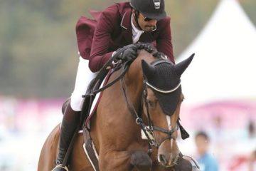 فرسان قطر يشاركون في جولة كان الفرنسية لقفز الحواجز