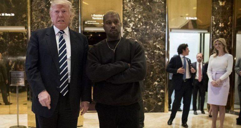 كانيي ويست يتراجع عن تأييده لـ دونالد ترامب