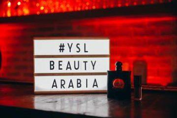 سهرة YSL Beauty Tatouage Couture في دبي