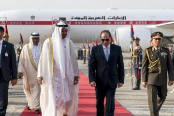 السيسي وبن زايد يشهدان مراسم توقيع اتفاقيات التعاون بين مصر والإمارات