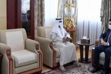 نهيان بن مبارك يبحث مع سفير أفغانستان تعزيز علاقات التعاون