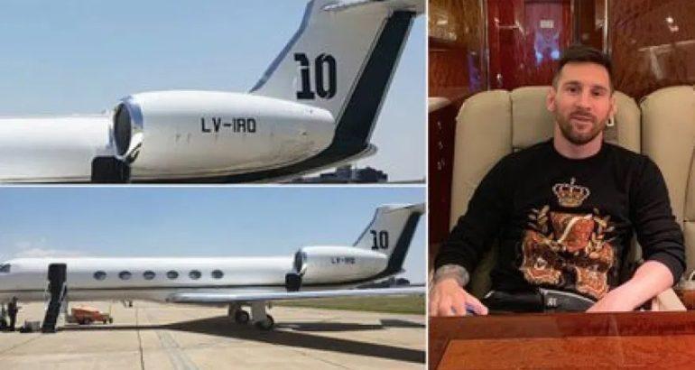 رئيس دولة يستأجر طائرة ليونيل ميسي لأيام مقابل 160 ألف دولار