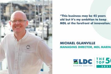 تم اختيار العضو المنتدب لمجموعة MDL Marinas ضمن أفضل 50 رائد أعمال طموحًا في المملكة المتحدة لعام 2021